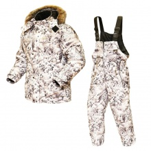 Зимний белый костюм для охоты  -40°С алова