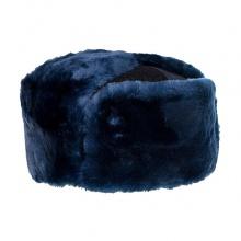 Шапка-ушанка уставная синяя
