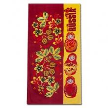 Полотенце Русские матрешки сувенирное