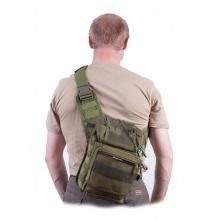 Тактическая сумка через плечо олива