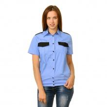 Рубашка охранника женская c коротким рукавом