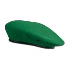 Берет бесшовный зеленый погранвойска